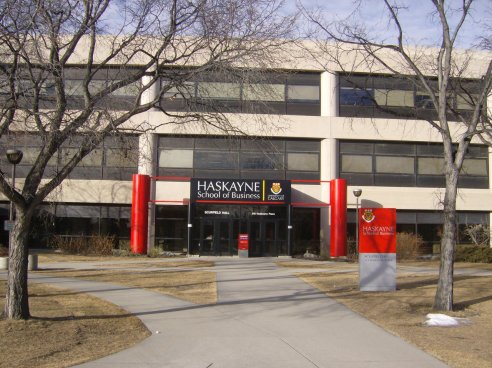 Haskayne School of Business, University of Calgary