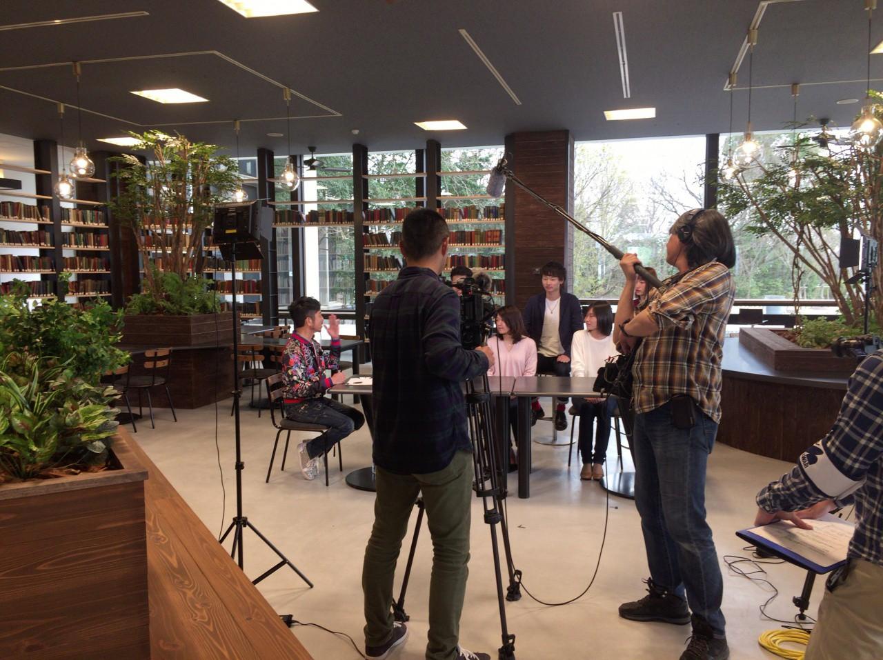 日進/長久手キャンパス【メディア情報】日進キャンパスがテレビ取材を受けました